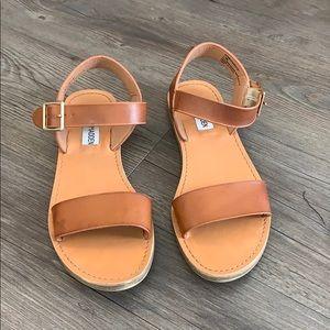 Tan Steve Madden sandals